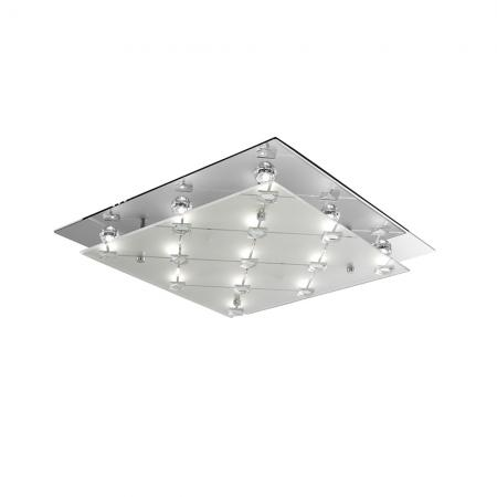 LED Square Flush Light Fitting