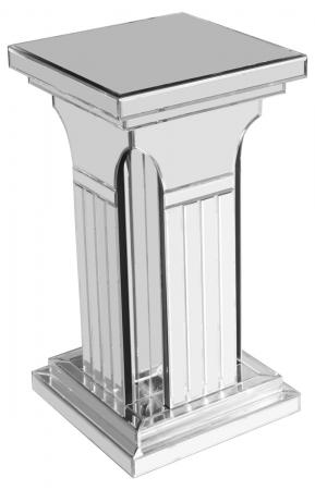 Mirrored Column Pedestal