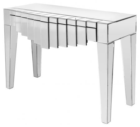 art deco style console table art deco mirrored furniture