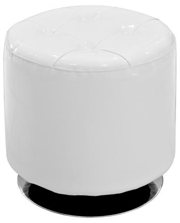Spinning Drum Stool (White)