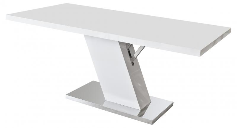 White high gloss dining table lavish home for White high gloss dining table