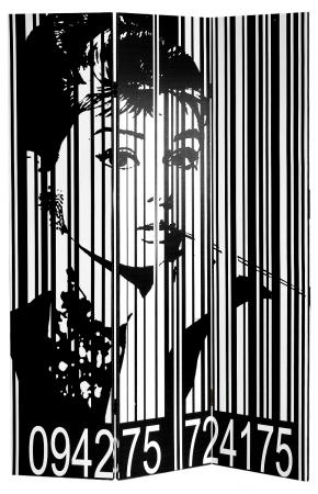 Audrey Hepburn Screen Room Divider