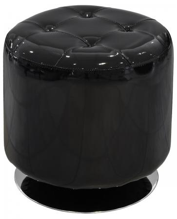 Spinning Drum Stool (Black)