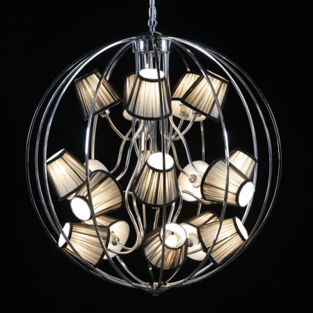 Multi Shade Chandelier Sphere