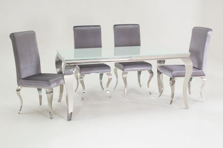 Louis Dining Table with 6 Chairs