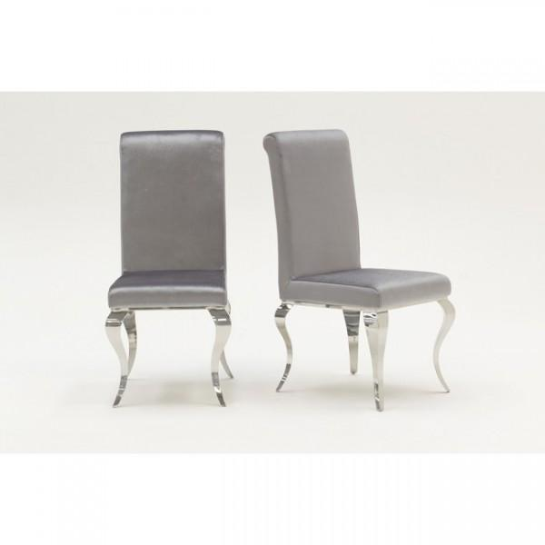 Louis Silver Dining Chair