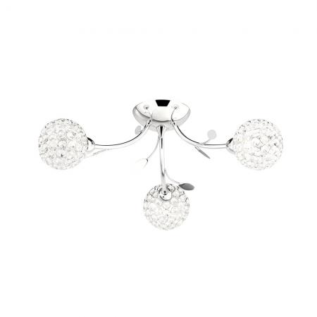 Bellis Semi Flush 3lt Ceiling Light