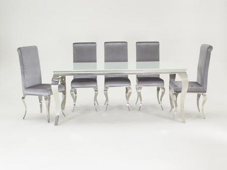 Louis Dining Set with 6 Chairs