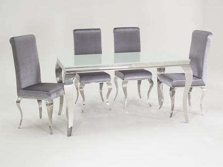 Louis Dining Table with 4 Chairs