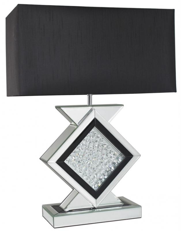 Floating Crystal Table Lamp