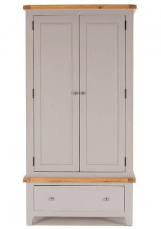 Grey Oak Wardrobe