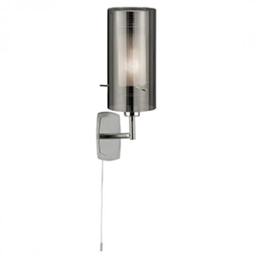 Duo Smoked Wall Light