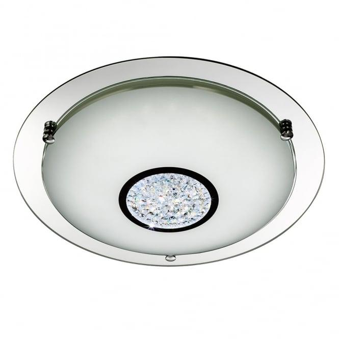 led flush fitting ceiling light lavish home