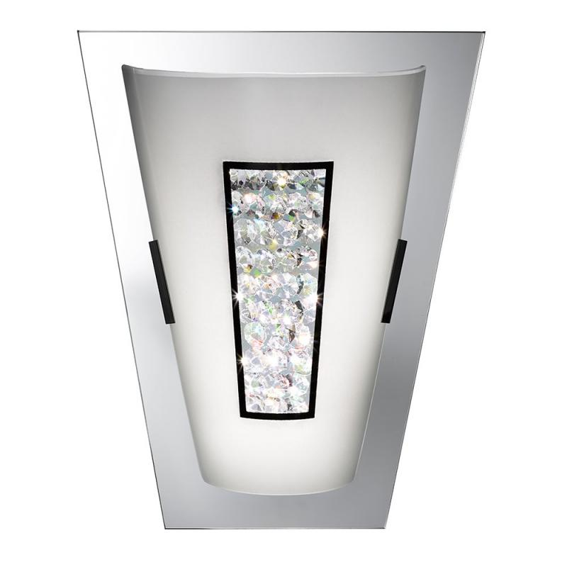 LED Crystals Wall Light