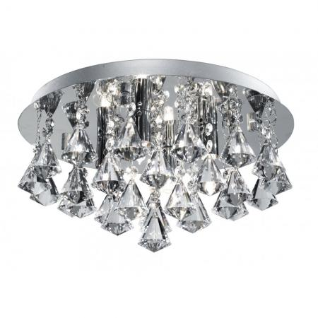 Hanna Chrome Ceiling Light