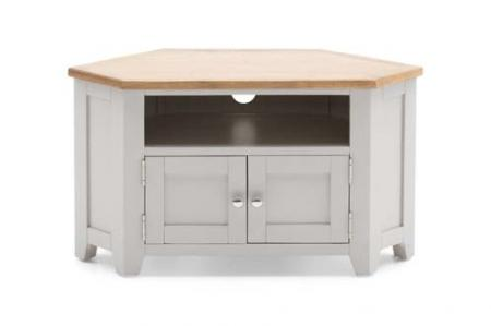 Grey/Oak TV Unit - Corner
