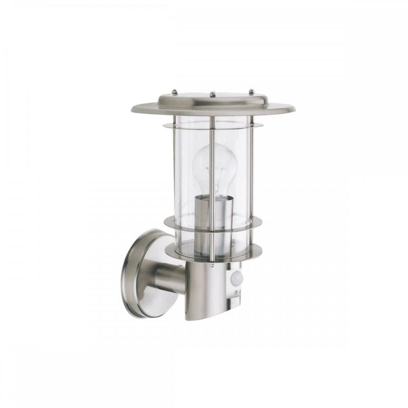 Stainless Steel IP44 Outdoor Light with Motion Sensor