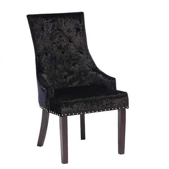Black Knockerback Chair