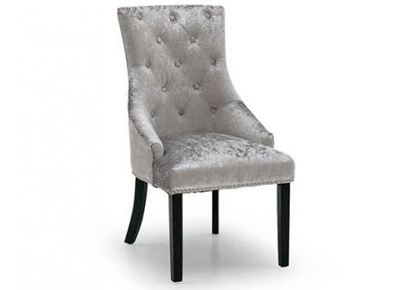 Silver Knockerback Chair