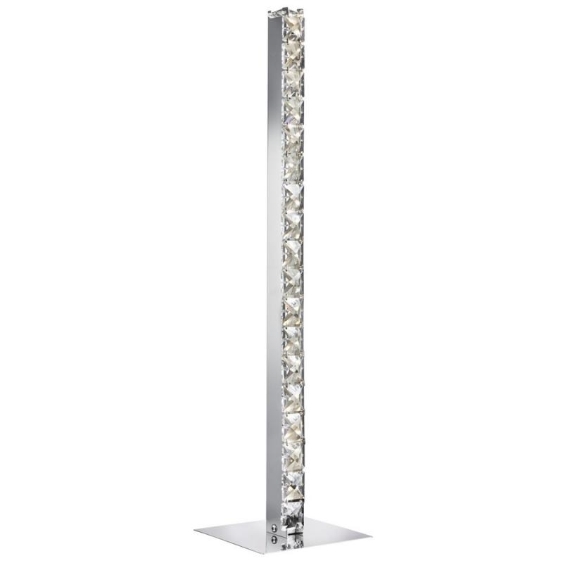 LED Crystal Column Table Lamp