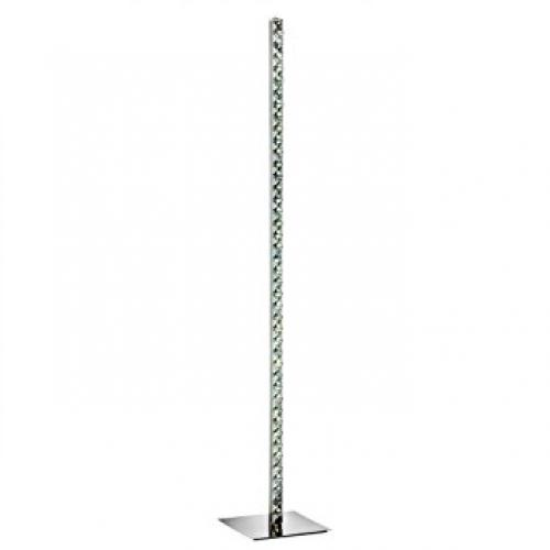 LED Crystal Column Floor Lamp