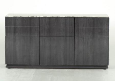 Grey Marble Top Sideboard