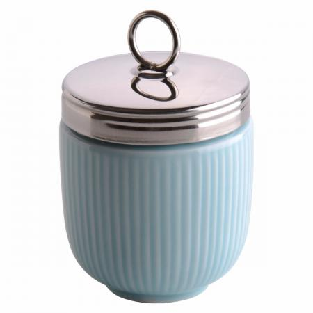 Egg Coddler Celadon Blue