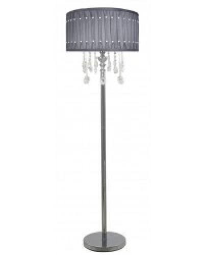 Grey Crystal Floor Lamp