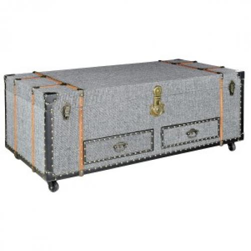 Grey Fabric Chest