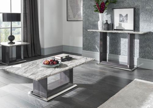 Grey Marble Top Coffee Table Lavish Home - Grey marble top coffee table