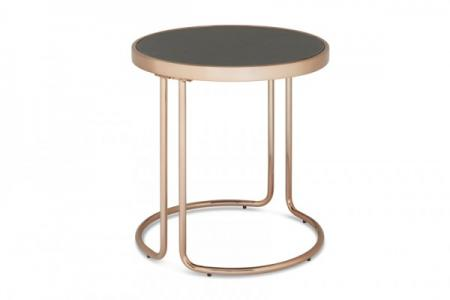 Rose Gold Lamp Table