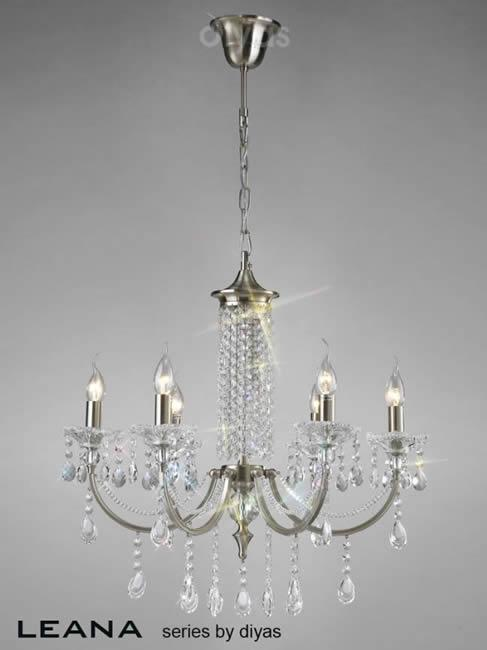 Leana 4 Light Chandelier