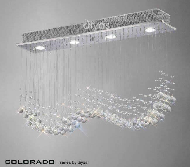 Colorado 4 Light Linear Pendant