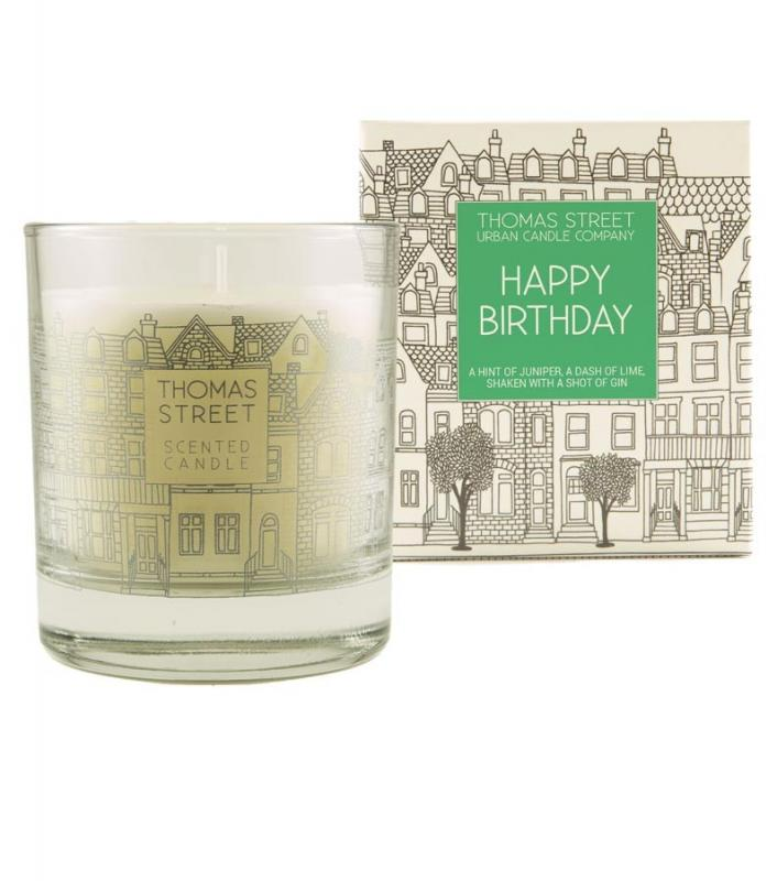 Thomas Street Happy Birthday Candle