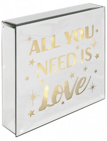 All You Need Is Love Light Box