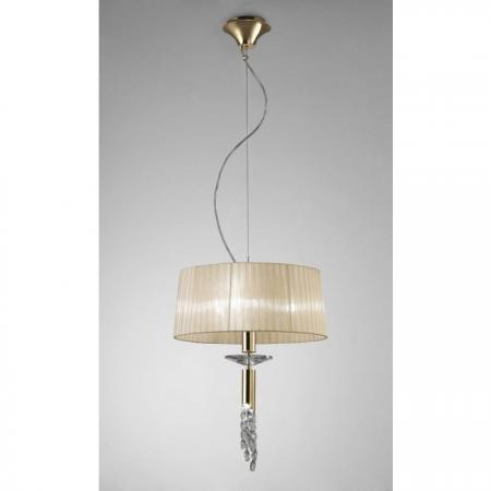 Tiffany French Gold Ceiling Light