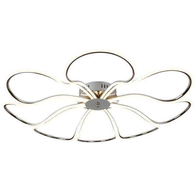 8 LIGHT LED LARGE PETAL CEILING FLUSH