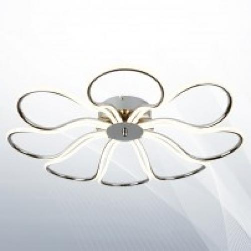 8 LIGHT LED MEDIUM PETAL CEILING FLUSH
