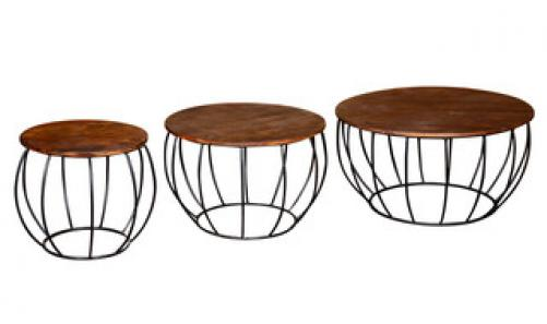 Durango Nesting Table Set