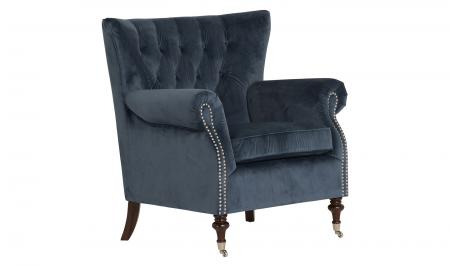 Rigby Accent Chair - Midnight Velvet