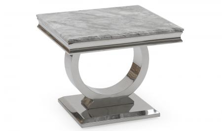Arianna Lamp Table - Grey